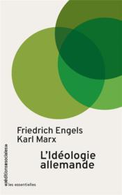 L'idéologie allemande - Couverture - Format classique