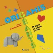 Origamis géants ; 28 objets en papier à créer ; coffret - Couverture - Format classique