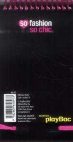 My notebook ; rose - 4ème de couverture - Format classique