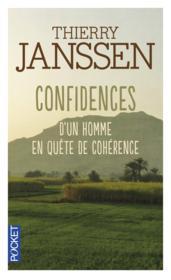 Confidences d'un homme en quête de cohérence - Couverture - Format classique