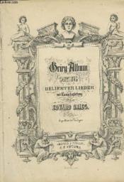 Grieg Album - Sammlung Beliebter Lieder Mit Klavierbegleitung : N°1 - 24. - Couverture - Format classique