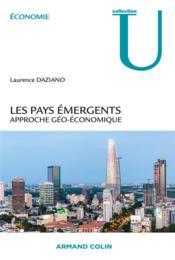 Les pays émergents ; approche géo-économique - Couverture - Format classique
