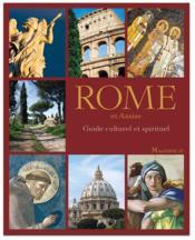 Guide spirituel et culturel ; Rome et Assise - Couverture - Format classique
