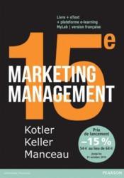 Marketing management (15e édition) - Couverture - Format classique