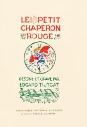 Le chaperon rouge - Couverture - Format classique