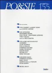 Revue Po&Sie N.155 - Couverture - Format classique
