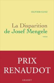 La disparition de Josef Mengele - Couverture - Format classique