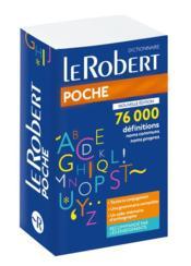 Dictionnaire Le Robert poche - Couverture - Format classique
