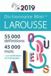 Mini plus dictionnaire de français 2019 (édition 2019) - Couverture - Format classique