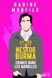 Les nouvelles enquêtes de Nestor Burma ; crime dans les marolles - Couverture - Format classique