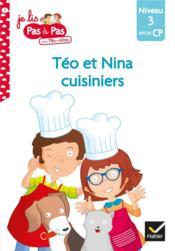 Téo et Nina cuisiniers - Couverture - Format classique