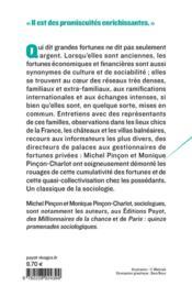 Grandes fortunes ; dynasties familiales et formes de richesse en France - 4ème de couverture - Format classique