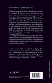 Le musée des femmes assassinées - 4ème de couverture - Format classique