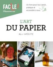 L'art du papier - Couverture - Format classique