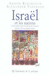 Israël et les nations - Intérieur - Format classique