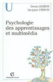 Psychologie des apprentissages et multimédia - Couverture - Format classique