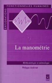 La manometrie - Couverture - Format classique