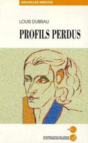 Profils perdus - Couverture - Format classique