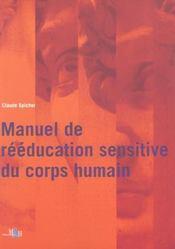 Reeducation sensitive corps humain manu - Intérieur - Format classique