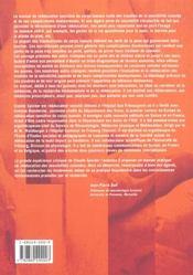 Reeducation sensitive corps humain manu - 4ème de couverture - Format classique