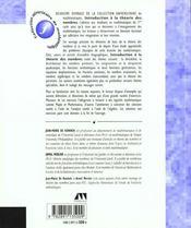 Introduction A La Theorie Des Nombres - 4ème de couverture - Format classique