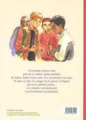 Midi pile, l'Algerie ; il y a 40 ans la guerre d'Algérie - 4ème de couverture - Format classique