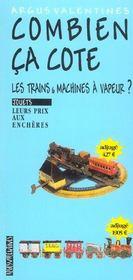 Les trains et machines a vapeur - Intérieur - Format classique