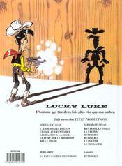 Lucky Luke T.64 ; Belle Star - 4ème de couverture - Format classique