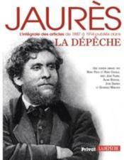 Jaurès ; intégrale des articles de 1887 à 1914 - Couverture - Format classique