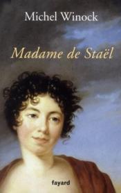 Madame de Staël - Couverture - Format classique
