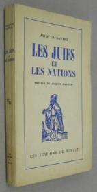 Les Juifs et les Nations. Préface de Jacques Madaule. - Couverture - Format classique