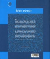 Portraits d'animaux ; bébés animaux - 4ème de couverture - Format classique