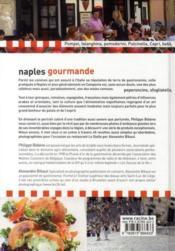 Naples gourmande - 4ème de couverture - Format classique