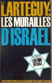 Les murailles d' Israël. - Couverture - Format classique