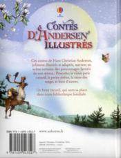 Contes d'Andersen illustrés - 4ème de couverture - Format classique