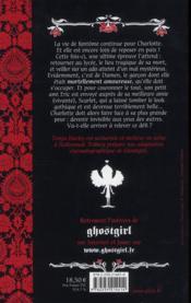 Ghostgirl mortellement amoureuse - 4ème de couverture - Format classique