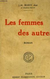 Les Femmes Des Autres. - Couverture - Format classique