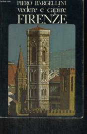 Vedere E Capire Firenze - Couverture - Format classique