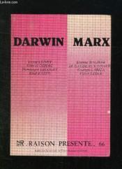 Raison Presente N° 66. Darwin Marx. - Couverture - Format classique