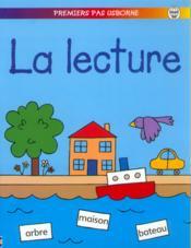 La Lecture - Couverture - Format classique