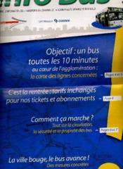 Info Bus - Journal D'Information Des Transports En Commun De La Communaute Urbaine De Bordeaux - Couverture - Format classique
