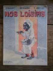 NOS LOISIRS n°3 quatrième année - Couverture - Format classique