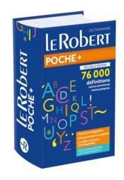 LE ROBERT POCHE + ; dictionnaire - Couverture - Format classique