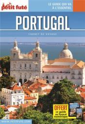 GUIDE PETIT FUTE ; CARNETS DE VOYAGE ; Portugal (édition 2020) - Couverture - Format classique
