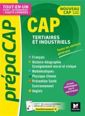 CAP tertiaires et industriels ; matières générales nouv. programmes-revision entrainement - Couverture - Format classique
