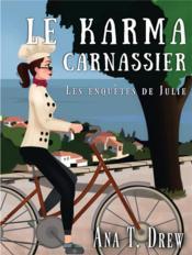 Le karma carnassier ; les enquêtes de Julie - Couverture - Format classique