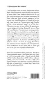 Humeur noire - 4ème de couverture - Format classique