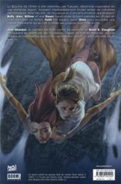 Buffy contre les vampires - saison 8 T.1 ; un long retour au bercail - 4ème de couverture - Format classique