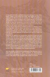 Anthologie du loup - 4ème de couverture - Format classique
