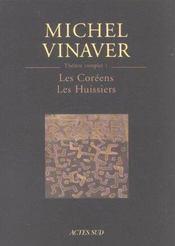Theatre Complet 1 - Les Coreens - Les Huissiers - Intérieur - Format classique